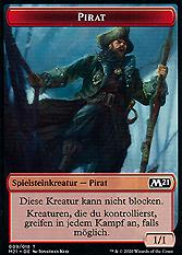 Pirat Spielmarke