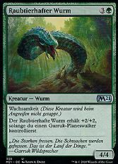 Raubtierhafter Wurm
