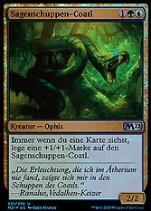 Sagenschuppen-Coatl