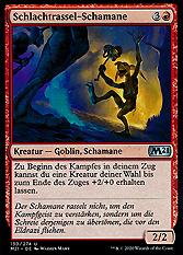 Schlachtrassel-Schamane