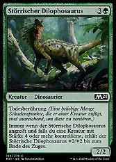 Störrischer Dilophosaurus