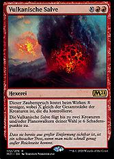 Vulkanische Salve