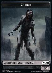 Zombie Spielmarke