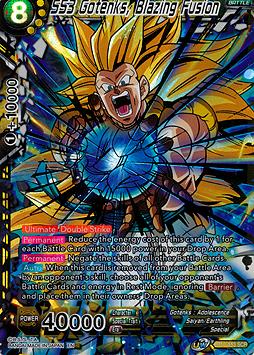 SS3 Gotenks, Blazing Fusion