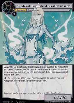 Yggdrasil, Geisterheld des Weltenbaums