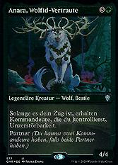 Anara, Wolfid-Vertraute