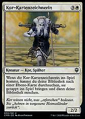 Kor-Kartenzeichnerin