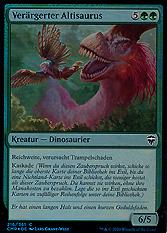 Verärgerter Altisaurus