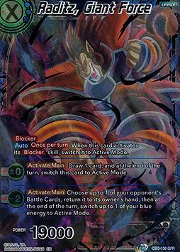 Raditz, Giant Force