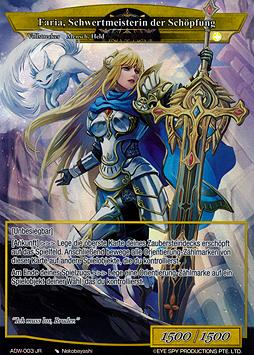 Faria, Schwertmeisterin der Schöpfung // Excalibur Genesis