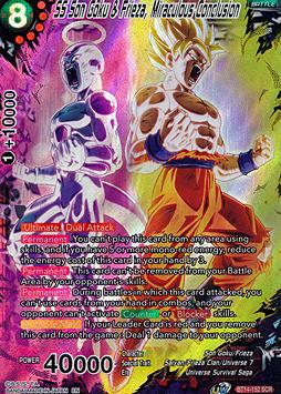 SS Son Goku & Frieza, Miraculous Conclusion