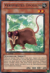 Verspieltes Opossum