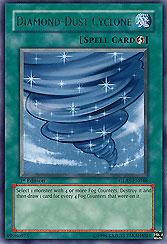 Diamond-Dust Cyclone