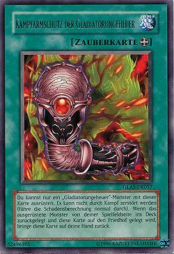Yugioh Gladiatorungeheuer