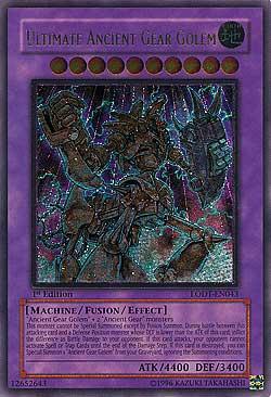 Ultimate Ancient Gear Golem Light of Destruction