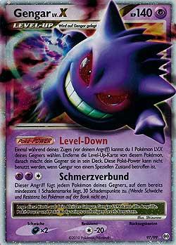 pokemon karten deutsch level x