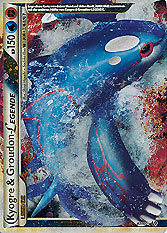 Kyogre & Groudon LEGENDE