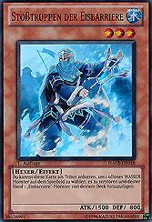 YU-GI-OH Zauberbrecherin der Eisbarriere Super Rare HA03-DE048