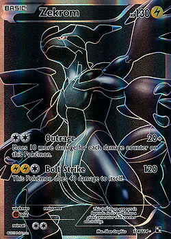 Zekrom Schwarz Amp Weiss Boosterserien Einzelkarten Pokemon