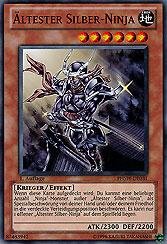 Ältester Silber-Ninja