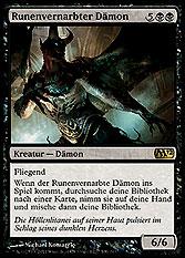 Runenvernarbter Dämon