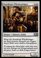 Steinhorn-Würdenträger