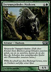 Zertrampelndes Nashorn