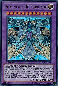 Elemental Hero God Neos Yu-Gi-Oh! Einzelkarten...