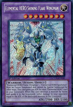 Yu-Gi-Oh! Einzelkarten Special Editions Legendary ...Elemental Hero Shining Flare Wingman Deck