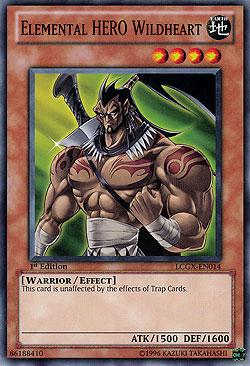 Elemental Hero Wildheart Yu-Gi-Oh! Einzelkarten...